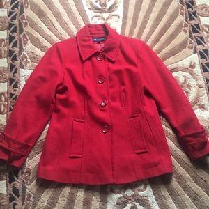 Anne Klein wool coat